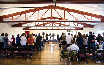 Connection Point: New church explores intersection of community values and Christian faith
