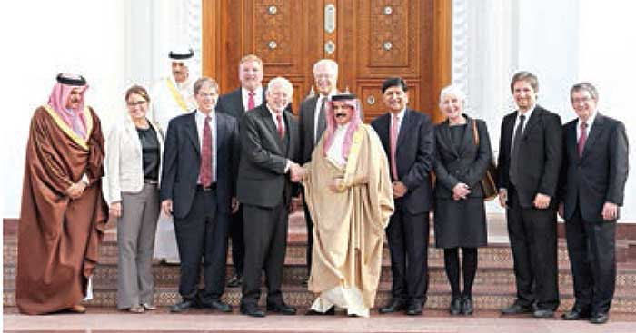RCA Mission Hospital Board Meets King of Bahrain