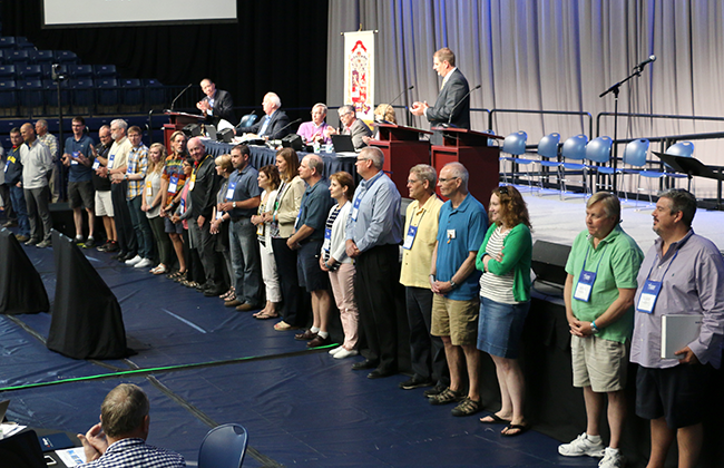 Synod Recognizes Missional Impact Partner Churches