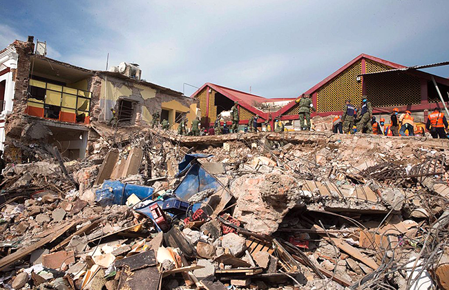 How the RCA Is Responding to Earthquakes in Mexico