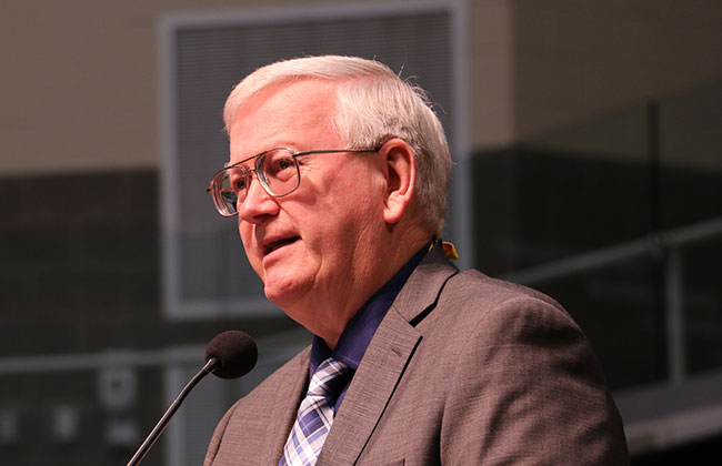 Don Poest Offers Observations from Year As Interim General Secretary