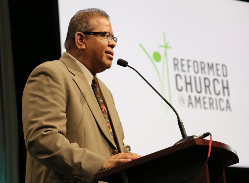 Eddy Alemán Encourages General Synod Delegates