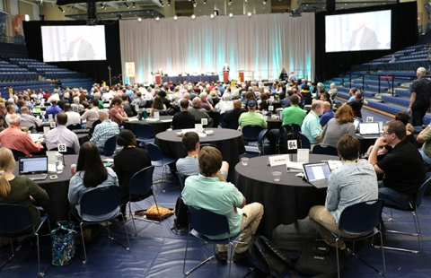 View of a General Synod plenary session